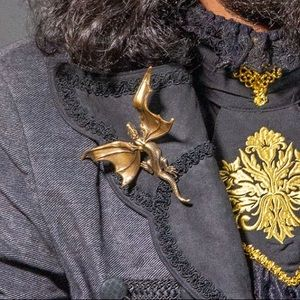 Bronze Dragon brooch pin